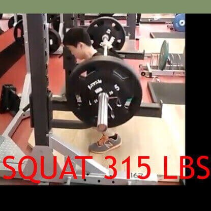 Learn to squat 315lbs