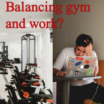 The Most Important Factor To Balance Work/School And Gym