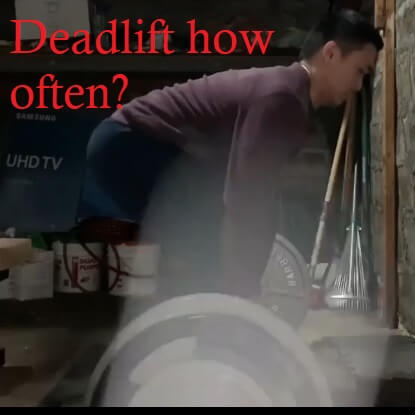 Do you need to deadlift every week?