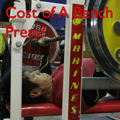 Cost Of A Bench Press? Best Bench Presses For Your Buck