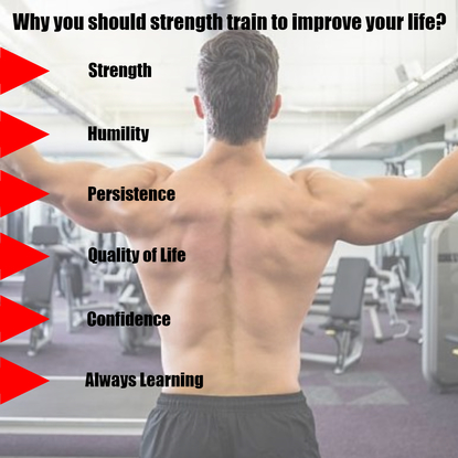 Strength train to improve your life