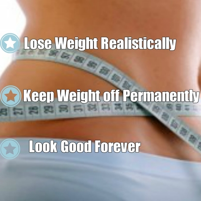 How to get a flat stomach PERMANENTLY and realistically?