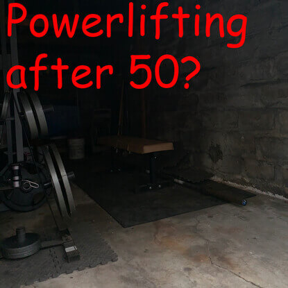 Can you powerlift after age 50?