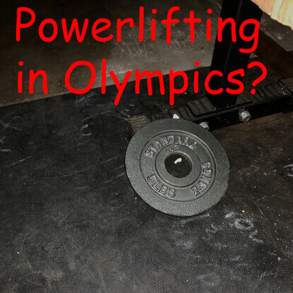 Powerlifting in the Olympics?
