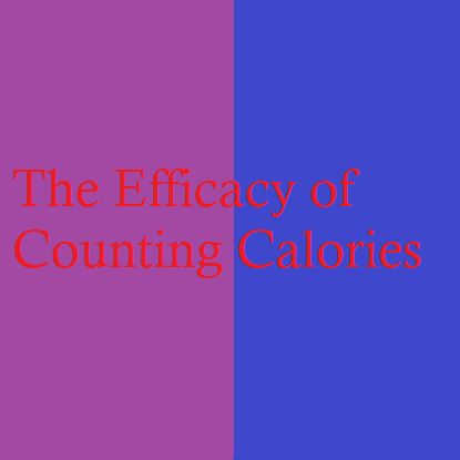 Should I count calories or just eat healthy?