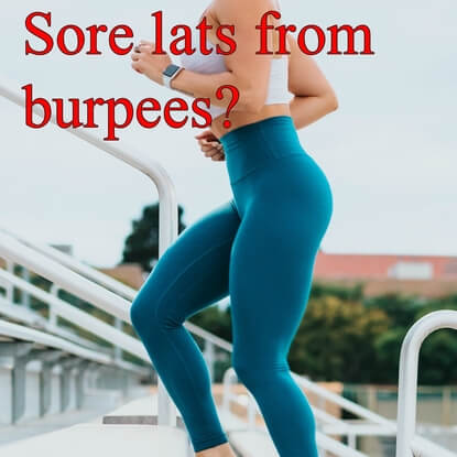 The Ultimate Guide : Why You Get Sore Lats From Burpees