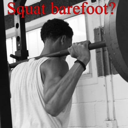 Why Squatting With Your Shoes Off Is The Best Idea